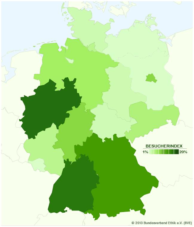 Bundesverband Ethik (BVE) - Besucherbarometer 2012