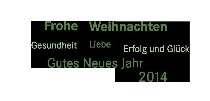 Frohe Weihnachten und ein gutes neues Jahr 2014 | BVE ...