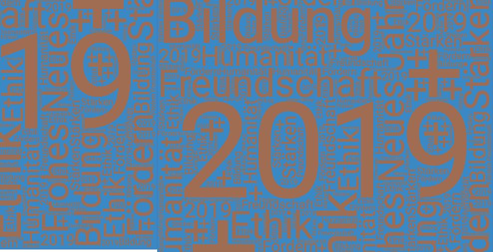 Ein gutes neues Jahr 2019 wünscht Ihnen der Bundesverband Ethik